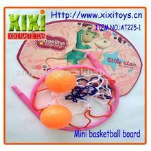 4Pcs New Sport Toy Kids Funny Design Mini Basketball Board Set