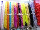 Dyeing Turkey feathers boa