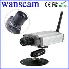 2012 popular Indoor Wireless Box Video Security Camera CCTV