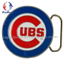 Chicago Cubs Pewter Belt Buckle