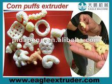 corn puffs machines, rice puffs making machines, snack extruder