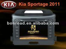 newest double din kia sportage 2012 car dvd