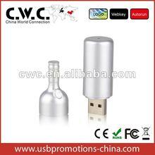 Plastic USB Flash Drive bottle design, the best promotional gift