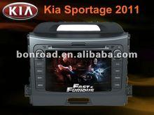 newest double din kia sportage 2012 car gps tracking system