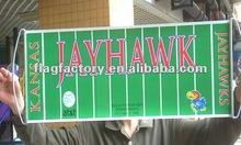 2012 hot sell digital printing fan banner;vinyl printing