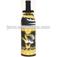 Customized Neoprene Wine Bottle Cover