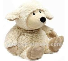 2012 fashion animal toy soft plush sheep sitting lamb