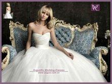 AWB0625 2012 Simple Sweetheart Latest Elegant Princess Bridal Wedding Gowns