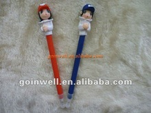 couple polymer clay pen