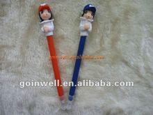 couple polymer clay pen