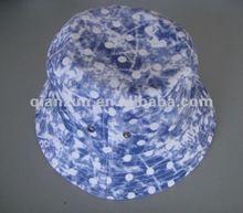 100% cotton soft baby/kids plain bucket cap