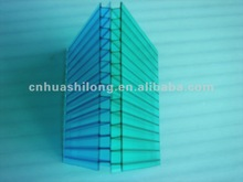 Recycled polycarbonate sheet