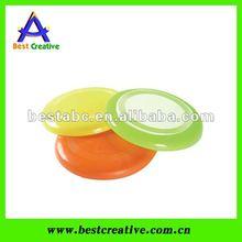Soft plastic frisbee toys