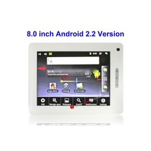 A816, 8 inch Touch Screen Tablet PC Android 2.2 aPad Style Tablet PC,CPU: Samsung S5PV210 ,1.2GHz(White)