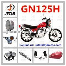 GN125H chopper engine parts