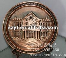 2012 metal plate for souvenir