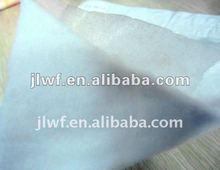 White 100% polyester needle punched nonwoven felt