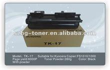 Laser Printer Toner Cartridge for use in Kyocera TK-17