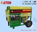 Atón 1. 8/2. 0kw plaza- marco de aire- generador diesel refrigerado por