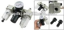"SMC 1/4"" Filter Regulator Air Treatment AC2000-02 3 Pieces Combination"