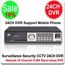 24 Channel DVR Security CCTV H.264 24CH DVR 24 CH Stand alone Mini DVR with Network