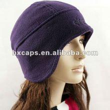 2012 fashion women polar fleece winter hat