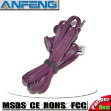 Good quality best price earphone for HTC Incredible S Thunderbolt Inspire Chacha Desire S Flyer Saga Wildfire S