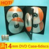 14mm pp wedding cd dvd case 6 discs
