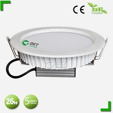 For Hotel use!!! 26w 8 inch 220v led recessed ceiling lights