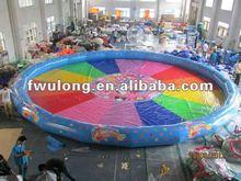 Cartoon inflatable pool