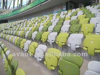 anti-ultraviolet outdoor sports folding stadium bleacher,outdoor gradstand for public sports,education,amusement activities use