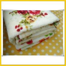 100% polyester best quality rashel blanket