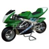 Low price 49cc gas pocket bike water cooled