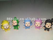 cute design, hot selling usb flash memory 8gb