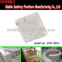 2012 hot selling building material---non-radiation acrylic stone sheet/slab