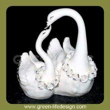 favores de la boda de cerámica de los cisnes