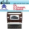 Citroen c4 car gps navigation system