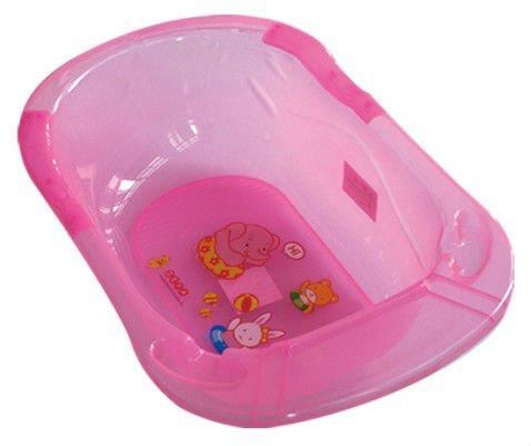 De plástico de seguridad del bebé bañera con asiento o de pie ...