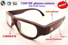 1280*720P hidden camcorders, glasses hidden video cameras.surveillance gadgets