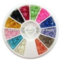 kaho art nail factory wholesale samll order nail accessories high quality holiday magic cosmetics
