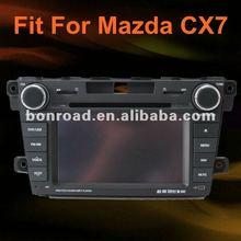 newest mazda cx-7 car dvd bluetooth gps navigation with 3 g