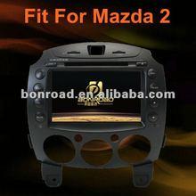 "7"" CASKA system for 2008- 2012 mazda 2 double din car dvd player"
