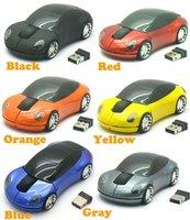 New Car USB 2.4G 1600dpi 3D Optical Wireless Mouse Mice