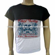 Mexico large quantity personal Low Neck T Shirt Cheap t shirt men