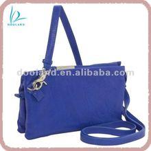Mini fashion women natural Italian leather handbag