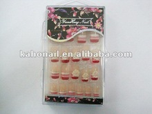 kaho art nail factory chain supermaket store,multiple shop welcome nail Sticker full cover natural artificial nails