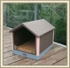 PU leather cute dog house for pets
