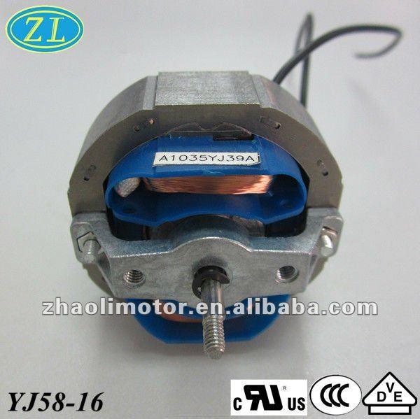 Ac Shaded Pole Motor Motor Electric Yj58 16 Electric Fan