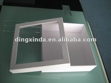 Hot!!! 2012 Newest style T-shirt clear plastic gift box