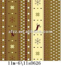 super soft flannel fleece fabric with deer print